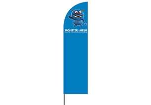 Lrg Beach Flag – 410cm Regular