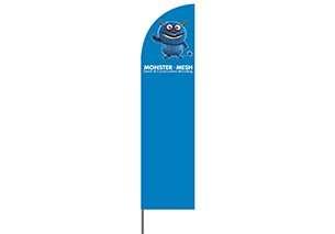 Med Beach Flag – 310cm Regular