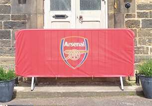 Premium 2.3 Crowd Barrier Cover