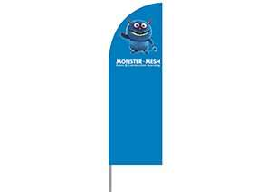 Sml Alu Flag – 250cm Regular