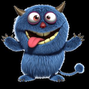 Monster 1 – crazy face-2