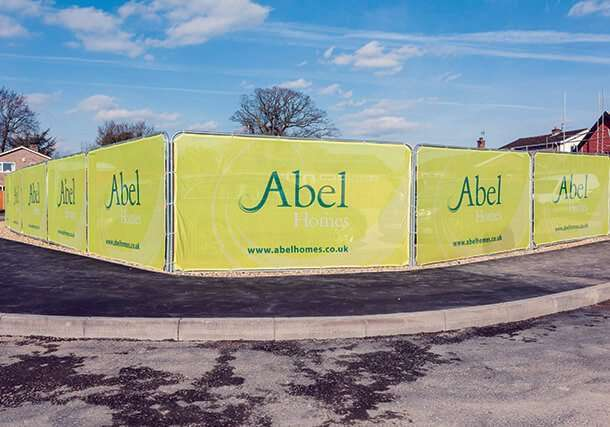 Airmesh Temporary Fencing Covers