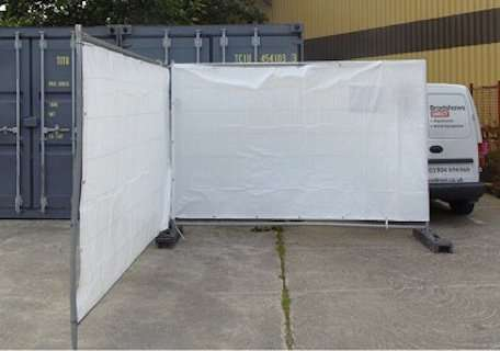 Fence Tarpaulin And Covers Available Plain And Printed