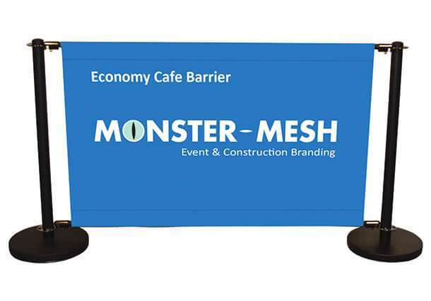 Economy cafe barrier starter with Banner