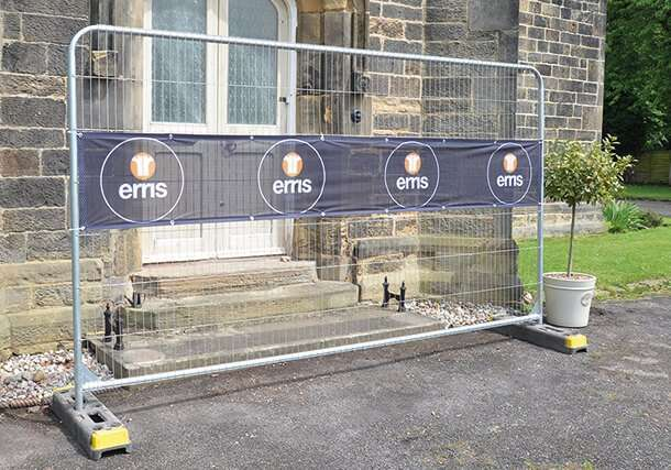 Heras Fence Banners Airmesh