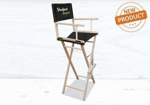tall director chair