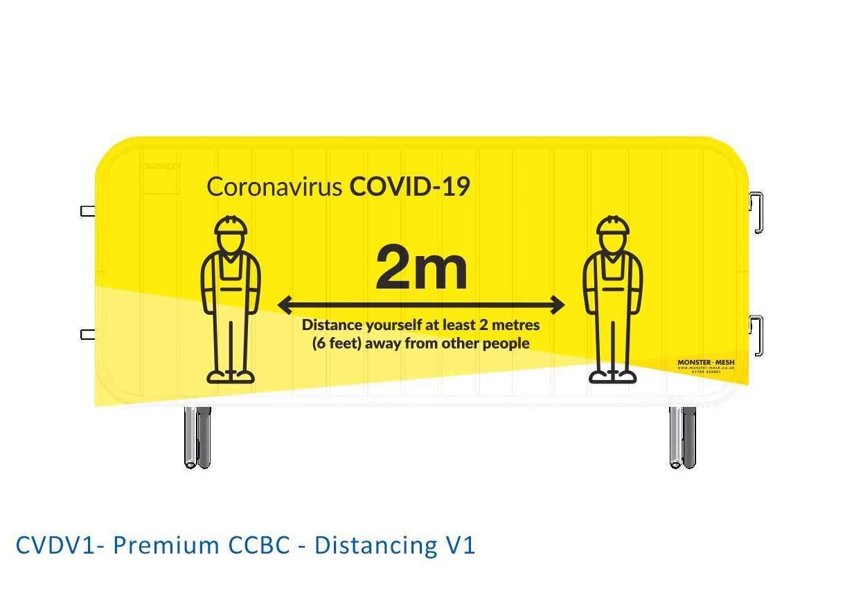 CVDV1- Premium CCBC – Distancing V1