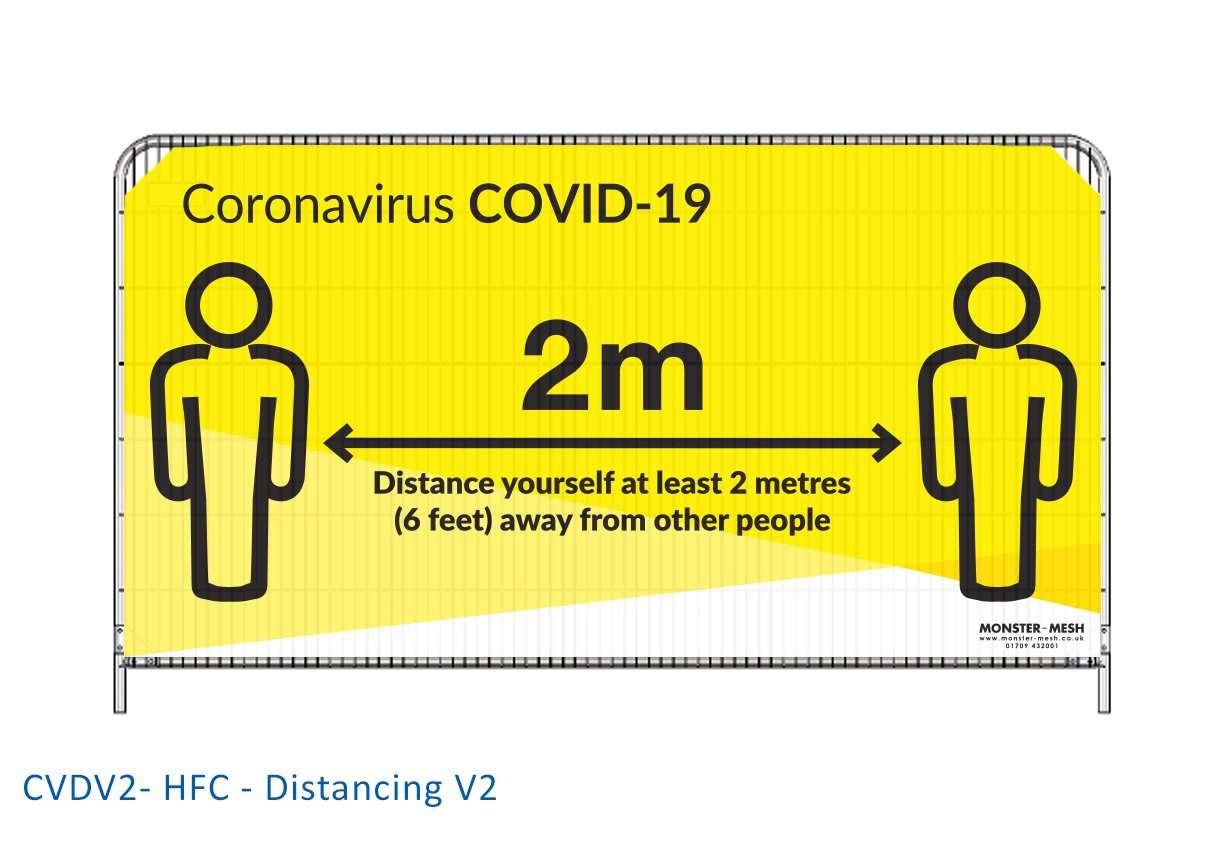 CVDV2- HFC – Distancing V2