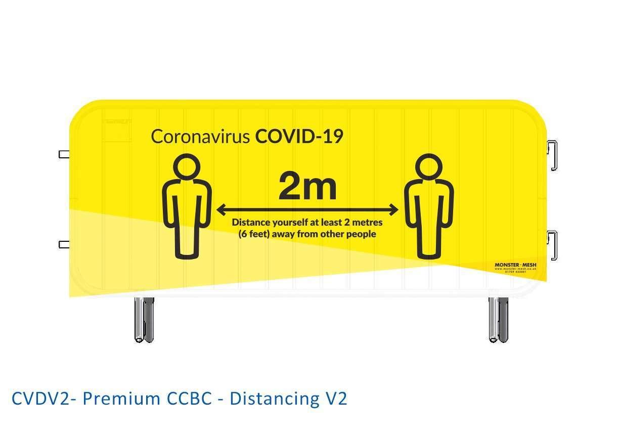 CVDV2- Premium CCBC – Distancing V2