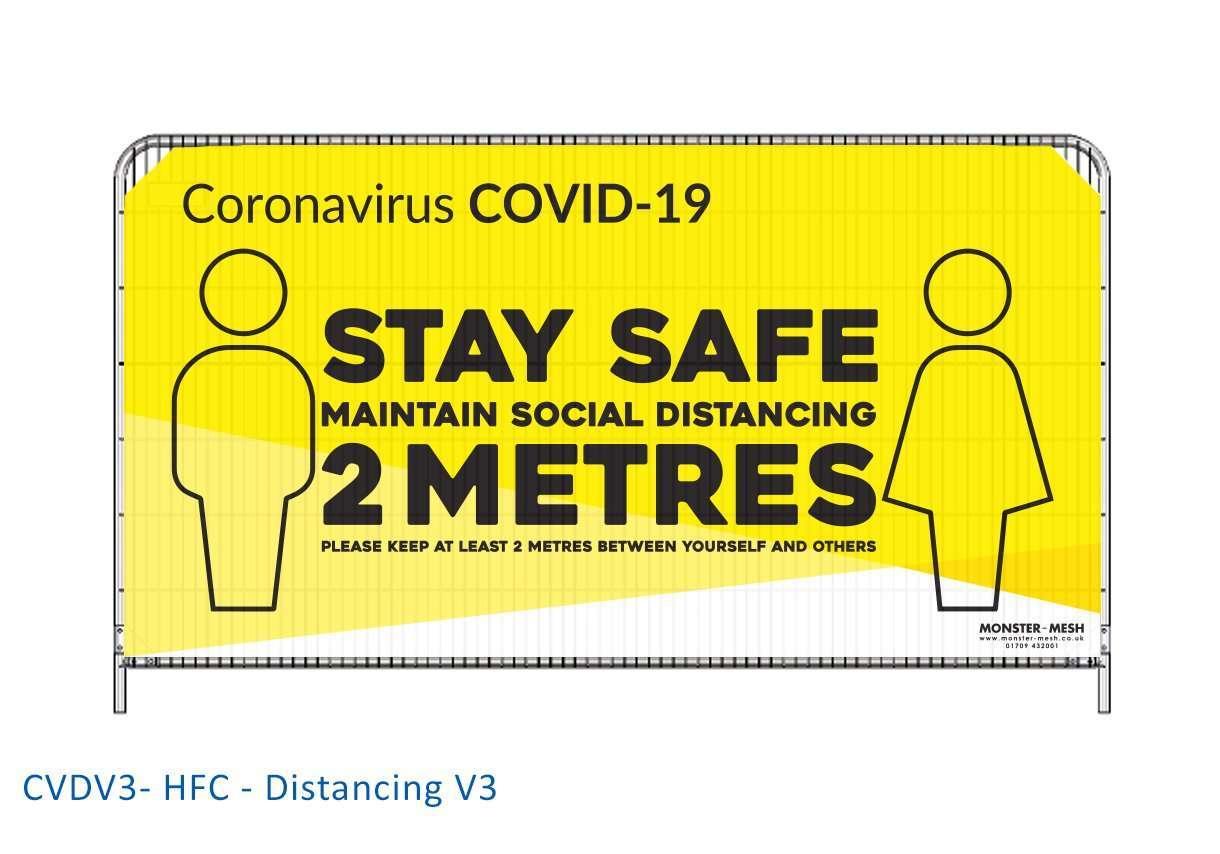 CVDV3- HFC – Distancing V3