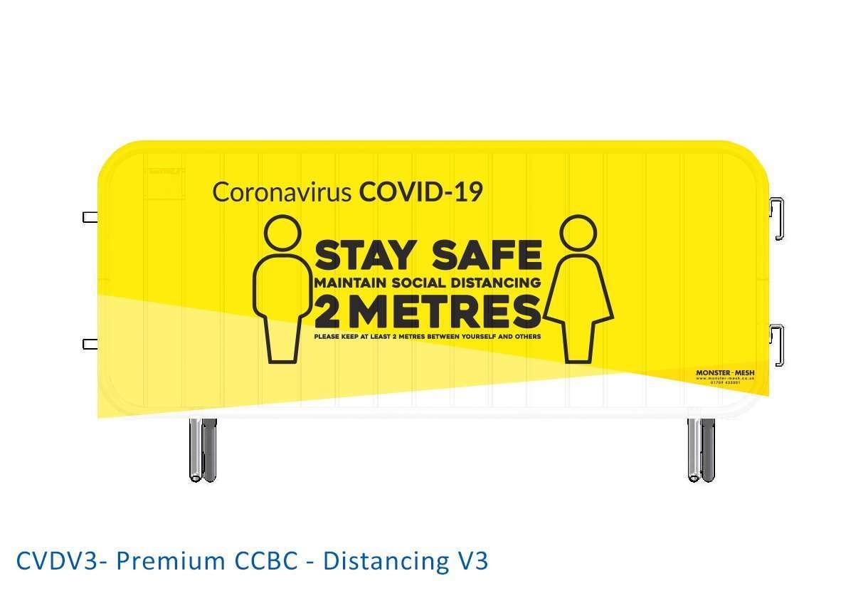 CVDV3- Premium CCBC – Distancing V3