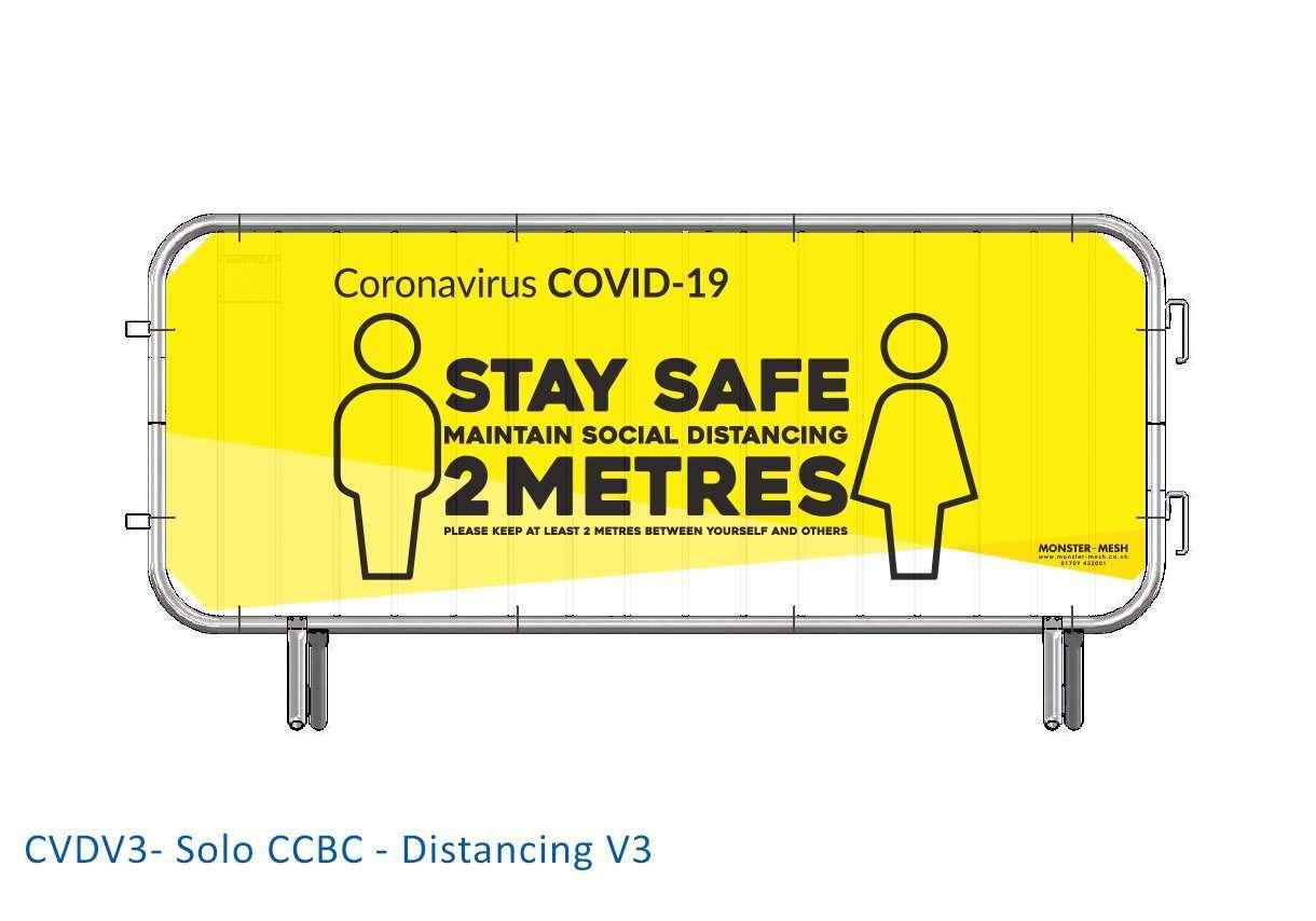 CVDV3- Solo CCBC – Distancing V3