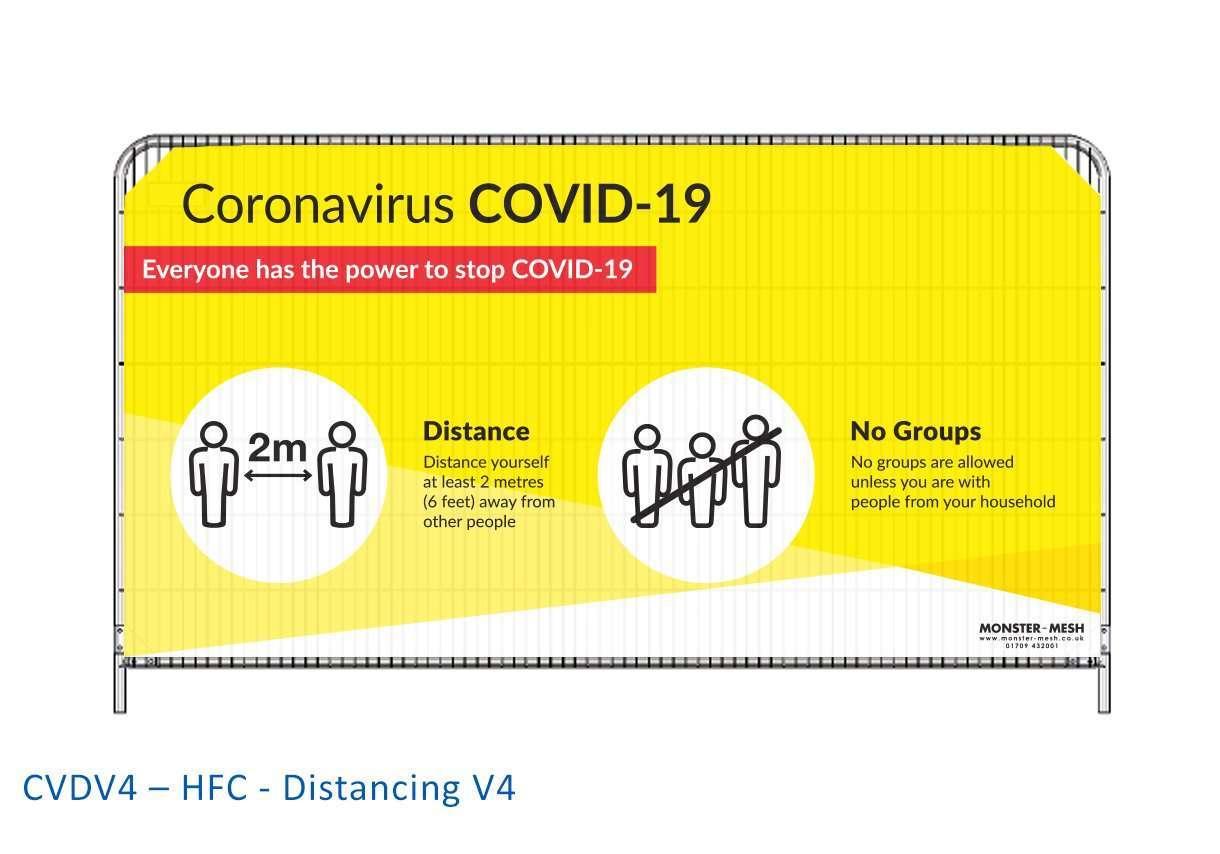 CVDV4 – HFC – Distancing V4