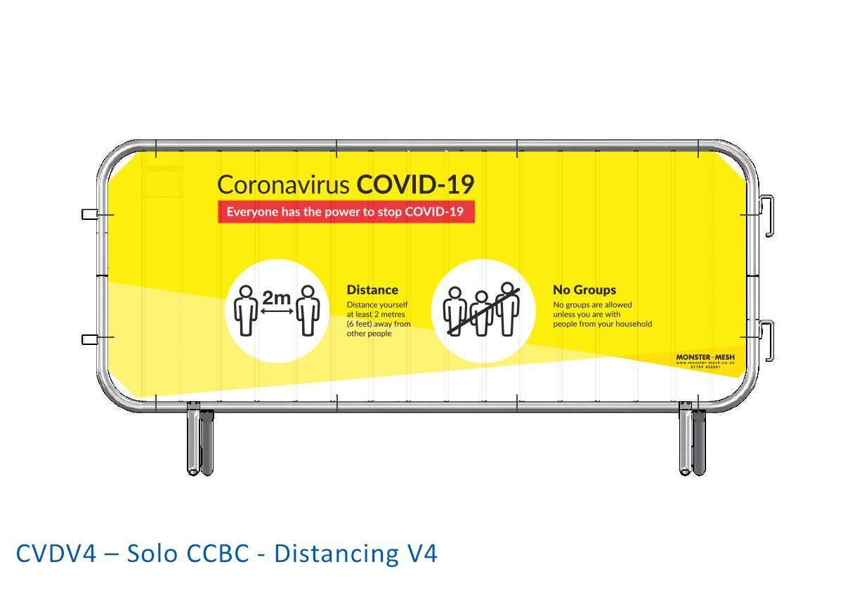 CVDV4 – Solo CCBC – Distancing V4