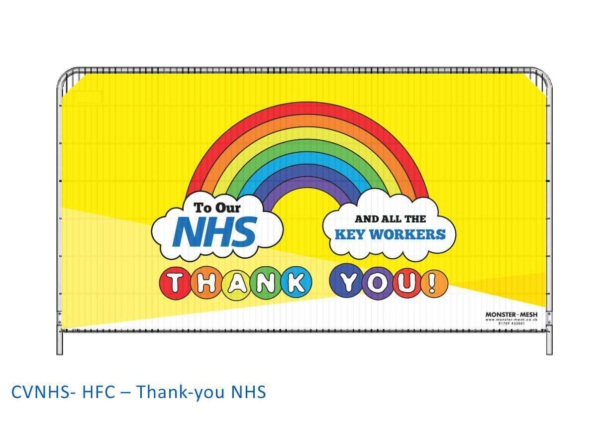 CVNHS- HFC – Thank-you NHS